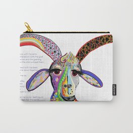 The Goat and the Leopard Carry-All Pouch