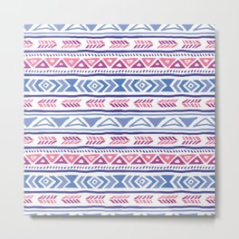 Tribal Pattern I Metal Print