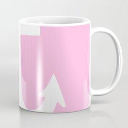 Anchor (White & Pink) Coffee Mug