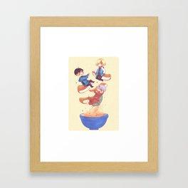 Vkusno Framed Art Print