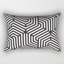 Hexagonal Geometric Rectangular Pillow