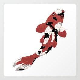 Koi #8 Art Print