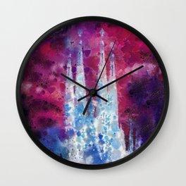Barcelona Night Wall Clock