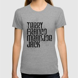 Terry Franco Mean Joe Jack / Gold T-shirt
