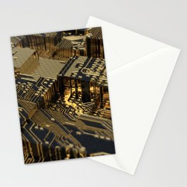 Short Circuit / Golden Connections Stationery Cards