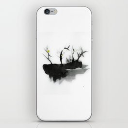Abstract work, watercolor, nature iPhone Skin
