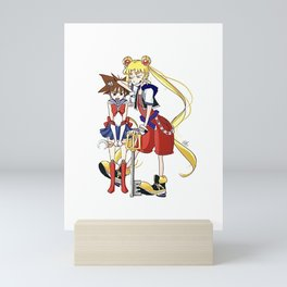 Crossover Fanart Mini Art Print