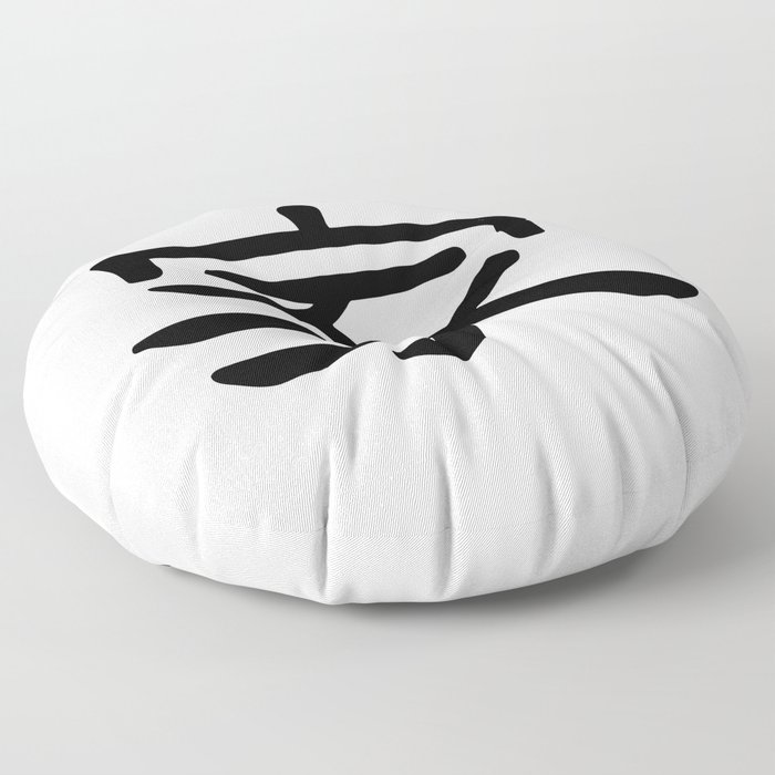 Jia / Chinese Symbol Home Floor Pillow