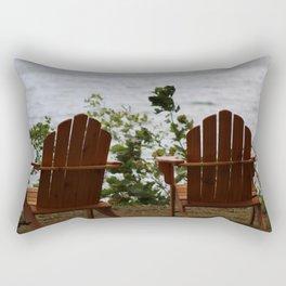 Adirondak View Rectangular Pillow