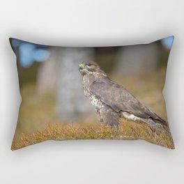 Common Buzzard Rectangular Pillow