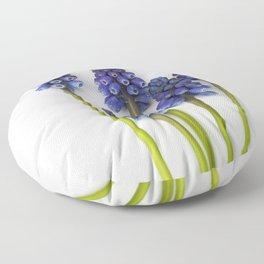 Muscari - Blue Grape - JUSTART © Floor Pillow
