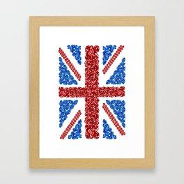 Blooming Brits Framed Art Print