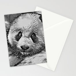 AnimalArtBW_Panda_20170601_by_JAMColorsSpecial Stationery Cards