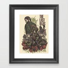 The Last of Us Artwork Framed Art Print