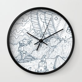 The Trench Wall Clock