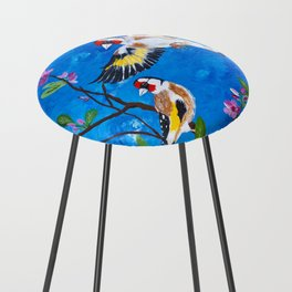 Goldfinches Counter Stool