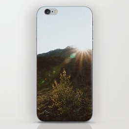 Sun dial iPhone Skin