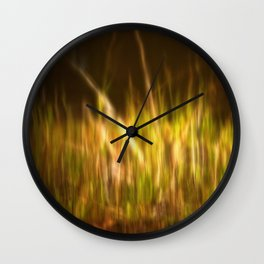 Midday Reflections Wall Clock