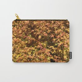 Japanese Maple Fall Leaves Carry-All Pouch