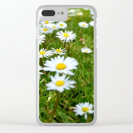 Daisys Clear iPhone Case