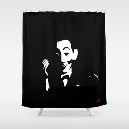 Pee-Wee  Shower Curtain