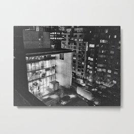 MoMA Courtyard Metal Print