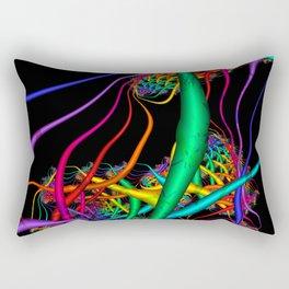 Plurality of Life. Underwater world Rectangular Pillow