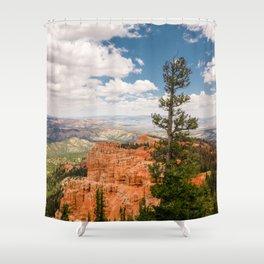 Black Birch Canyon at Bryce Canyon National Park Shower Curtain