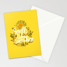 Smells Like Sunshine Stationery Cards