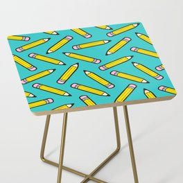Pencil me in blue Side Table