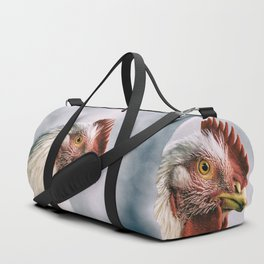 The white rooster Duffle Bag