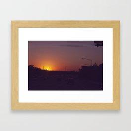 Route 80 Framed Art Print