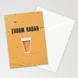 Funny Hot Chai Quote Stationery Cards