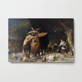 Josse van Craesbeeck - The Temptation of Saint Anthony (circa 1650) Metal Print