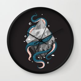 Scuba Diving Concept Wall Clock