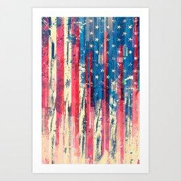 Amerikka Art Print
