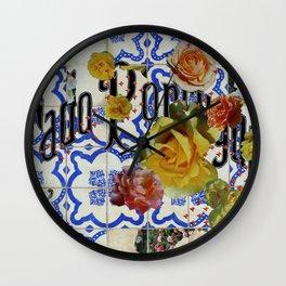 Fado Portuguese Wall Clock