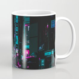 cyberpunk lost street Coffee Mug