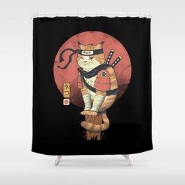 Shinobi Cat Shower Curtain