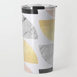 Composition of marbles VI Travel Mug