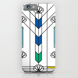 Waterlilies and Ennis iPhone Case