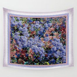 CEANOTHUS JULIA PHELPS ABSTRACT Wall Tapestry