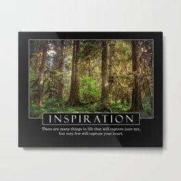 Inspire - Motivational Series Metal Print