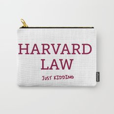 Harvard Law Carry-All Pouch