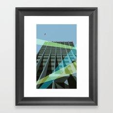 Uno Prii Apartment Building Framed Art Print