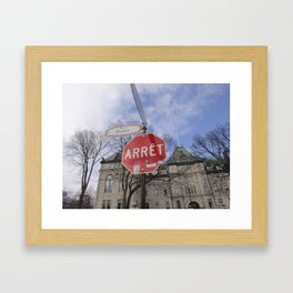 Hammer Time? Framed Art Print