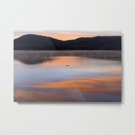Out of the Depths (Sunrise on Lake George) Metal Print