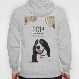 Year of the Dog - English Springer Spaniel Hoody