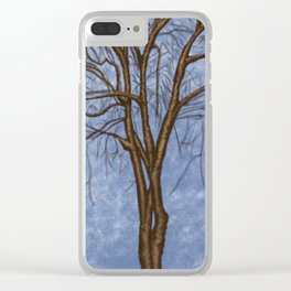 The Twisted Tree Clear iPhone Case