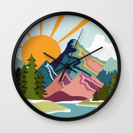I have found my inner peace Wall Clock